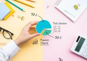 market share graph